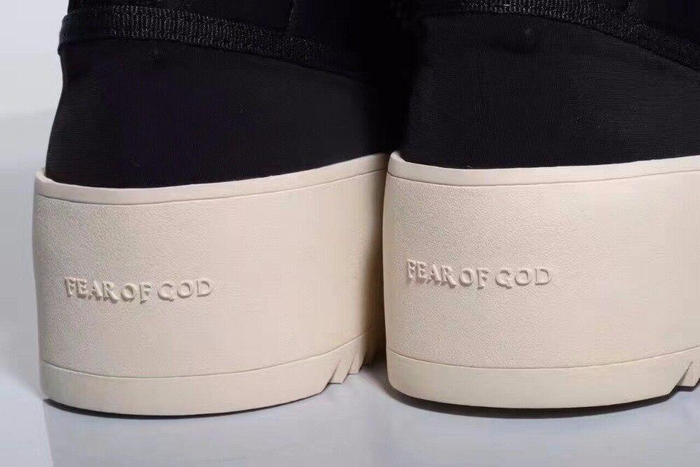 Страх божий военные сапоги 1:1 джастин бибер сапоги туман обувь высокое качество натуральная кожа загрузки мужчины повседневная БОТАС xmg0188-5