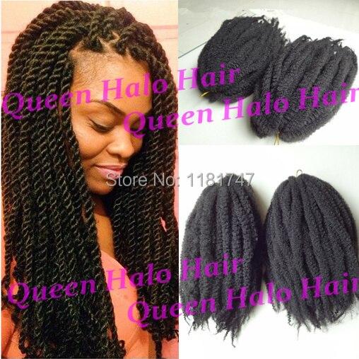 2015 New Fashion Cheap Afro Kinky Synthetic Marley Twist Braiding