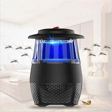 5W USB Electronic LED Mosquito Killer Light Safety Mosquito Trap Insect Killing Lamp For Living Room Bedroom Kitchen Night Light(China)