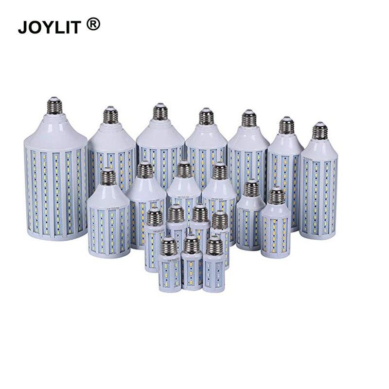 10 pièces DC12V AC/DC 12-60 V 30 W 40 W 60 W E27 E14 B22 36 V 6000 K blanc froid led ampoules de maïs smd 5730 lumière chaud/blanc froid