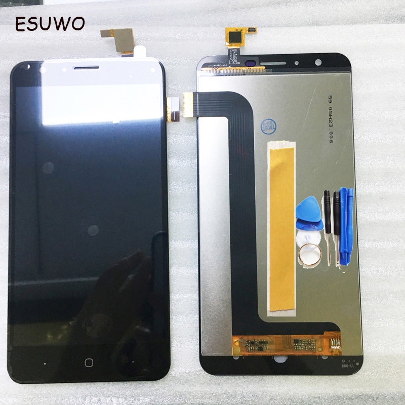 Mobile Phone Lcds Esuwo Lcd Display Screen For Fly Cirrus 2 Fs504 Lcd With Touch Screen Complete Screen Assembly Black Color Goods Of Every Description Are Available Mobile Phone Parts