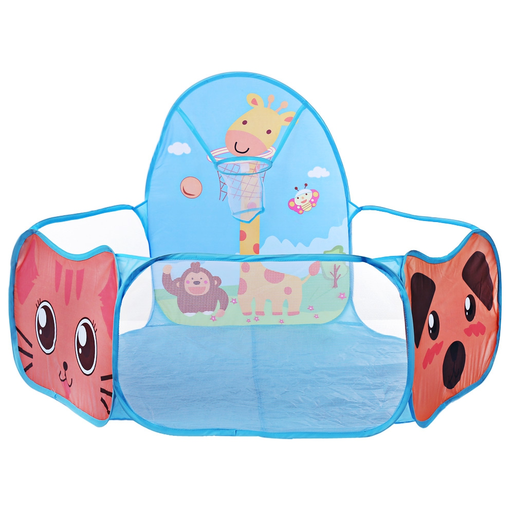 Cartoon Animal Foldable Children Toy Tent Funny Ocean Ball Pit Pool Tent Gym Play Tent for Kids