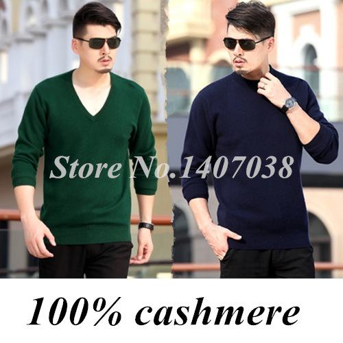 2016 outono e inverno dos homens camisola de Decote Em V suéter de cashmere de lã de alta qualidade pulôver de malha básica camisa pullover grande camisola
