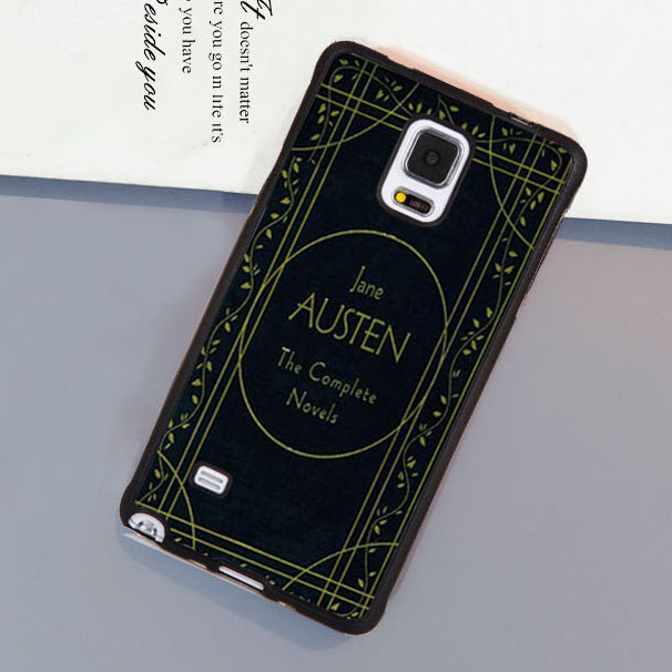 Book Jane Austen available Soft Rubber Phone Cases For Samsung S3 S4 S5 S6 S7 edge plus Note 2 Note 3 Note 4 Note 5 Cover Shell