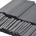 Hot New 127PCS Ratio 2:1 Polyolefin Black Heat Shrink Tube Assortment Wrap Electrical Insulation Wire Cable Tube