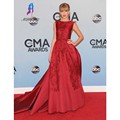 Burgundy Lace Appliques Celebrity Inspired Dresses Satin Long A-Line Celebrity Formal Prom Party Gown Custom Made