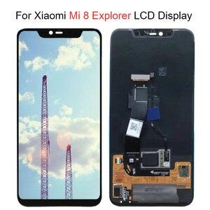 Image 2 - Super Amoled LCD Screen Für Xiaomi Mi 8 LCD MI 8 Explorer Display Digitizer Montage Touch Screen Für Xiaomi Mi8 LCD Mi 8 SE LCD