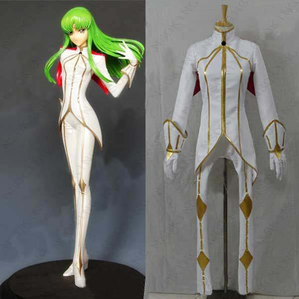 6b88cba5fcb Online Shop Code Geass CC white knight Cosplay Costume custom made ...