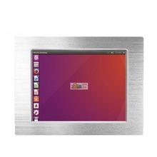"""15 """"przemysłowy ekran dotykowy Panel PC z Intel Celeron J1900 czterordzeniowy CPU 4Gb pamięci ram i 64Gb SSD USB 3.0 tablet z gumowaną obudową pc"""