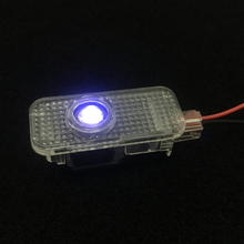 2pcs Car Welcome Light For Seat Exeo 2009-2014 Car-styling LED Laser Projector Lights Signal Lamp For Seat Emblem Logo Door Lamp стоимость