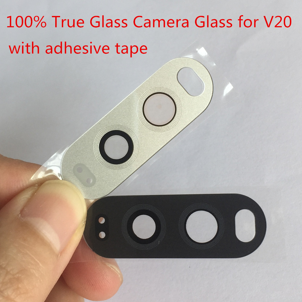 Tempered Glass Back Camera Glass For Lg V20 Camera Lens Outer Cover Repair Part With Adhesive Tape