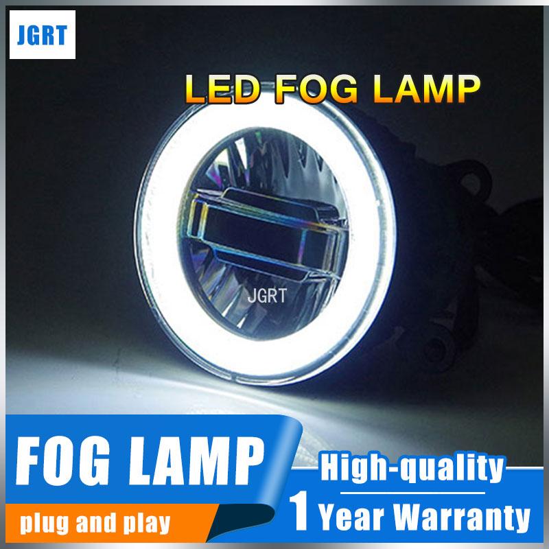LED Fog Lamps For Acura RDX Foglights+LED DRL+turnsignal
