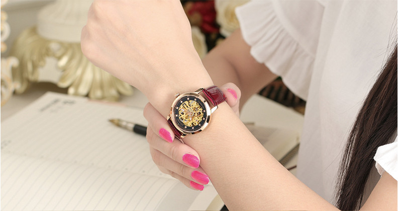 Wrist Watches Crystal Business