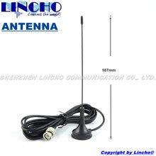 uhf omnidirectional ham antenna, small magnetic base  walkie talkie antenna, bnc male antenna