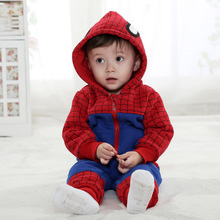 Anlencool 2019 Roupas Meninos free Shipping Spring On Behalf of Children's Clothing for baby Sports Suit Sweater Baby Spiderman