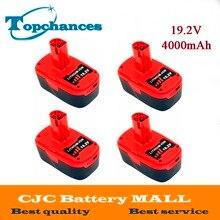 4X High Quality 19 2V 4000mAh Li Ion Power Tool Battery For Craftsman C3 11374 11375