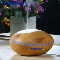 TSUNDERE L Aroma Diffuser Remote Touch Humidifier Essential Oil Diffuser Mist Maker Home With 200ml Wood