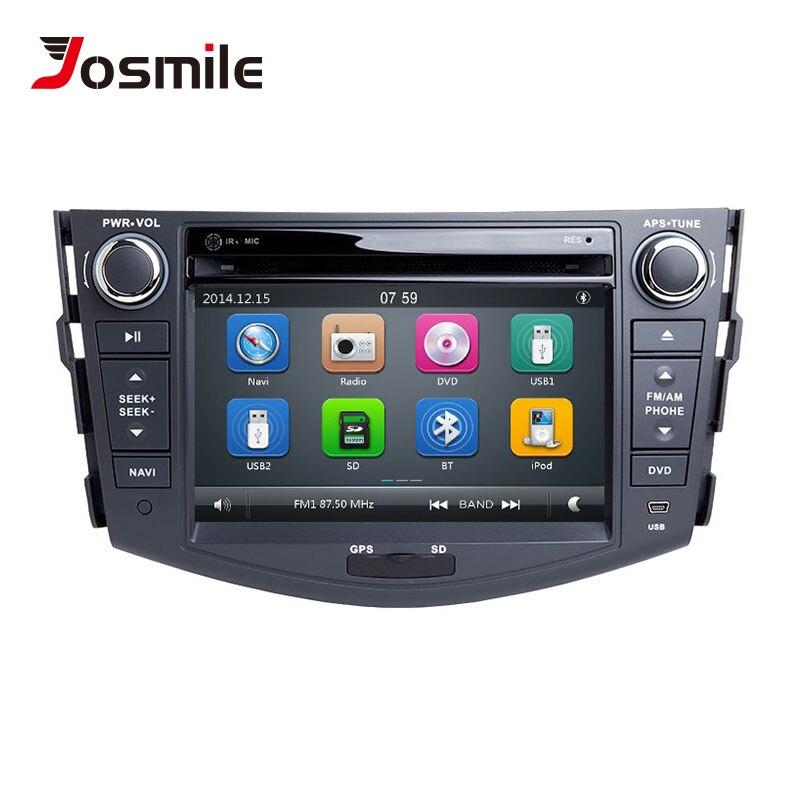 Autoradio 2 din Lecteur DVD de Voiture Pour Toyota RAV4 Rav 4 2006 2007 2008 2009 2010 2011 2012 Multimédia GPS Navigation Stéréo Audio