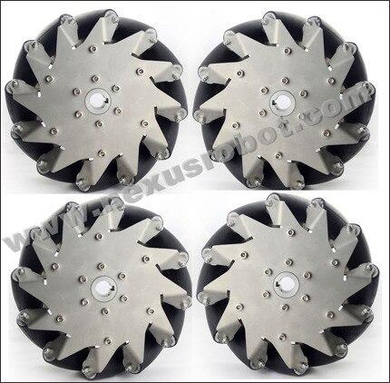 8 Inch Heavy Duty Mecanum Wheels Nexus 14138( Load Capacity:240kg/set)