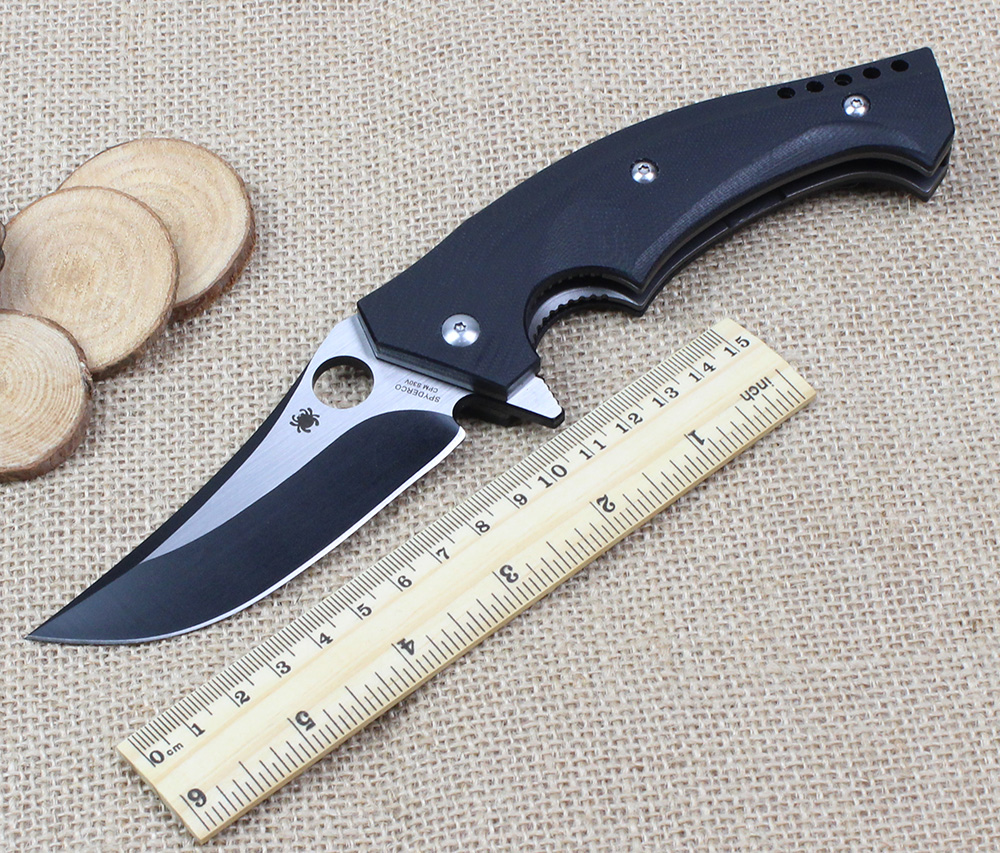 2017 New High Quality Folding font b Knife b font CPM S30V Blade Pocket Combat font