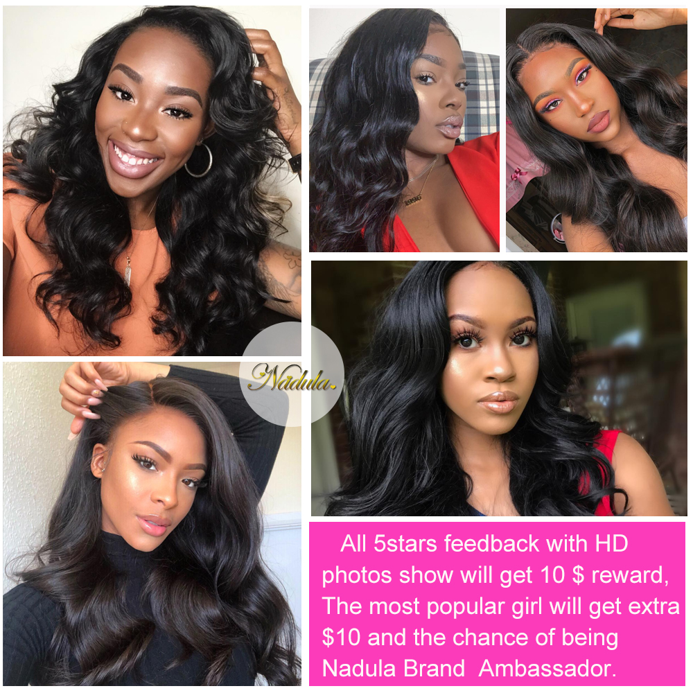 Nadula Hair Body Wave Wig 360 Lace Front Wig 150% /180% Density   Hair Lace Front  Wigs With Baby Hair 6