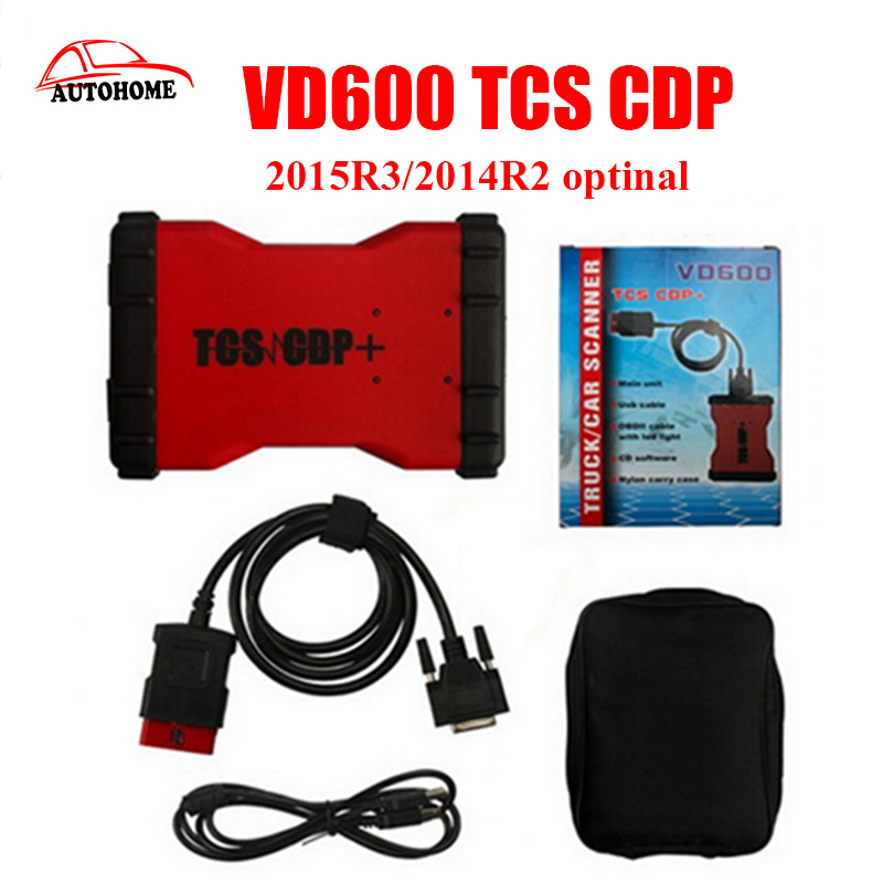 High Quality VD600 TCS cdp+ legal vci cdp pro plus without bluetooth diagnostic tools for cars with free dhl shipping