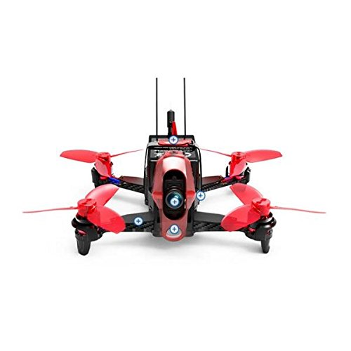 F19842 Walkera Rodeo 110 BNF No TX 110mm Racing Drone FPV RC Quadcopter (With 600TVL Camera/Battery/Charger) walkera rodeo 110 spare part upper fixed board