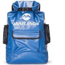 22L waterproof bag dry bag Storage Sack Bag For Canoe Kayak Rafting Drifting Outdoor Sport Swimming Bags Travel Kit Backpack