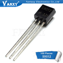 100 шт. S9012 TO-92 9012 TO92 триодный транзистор