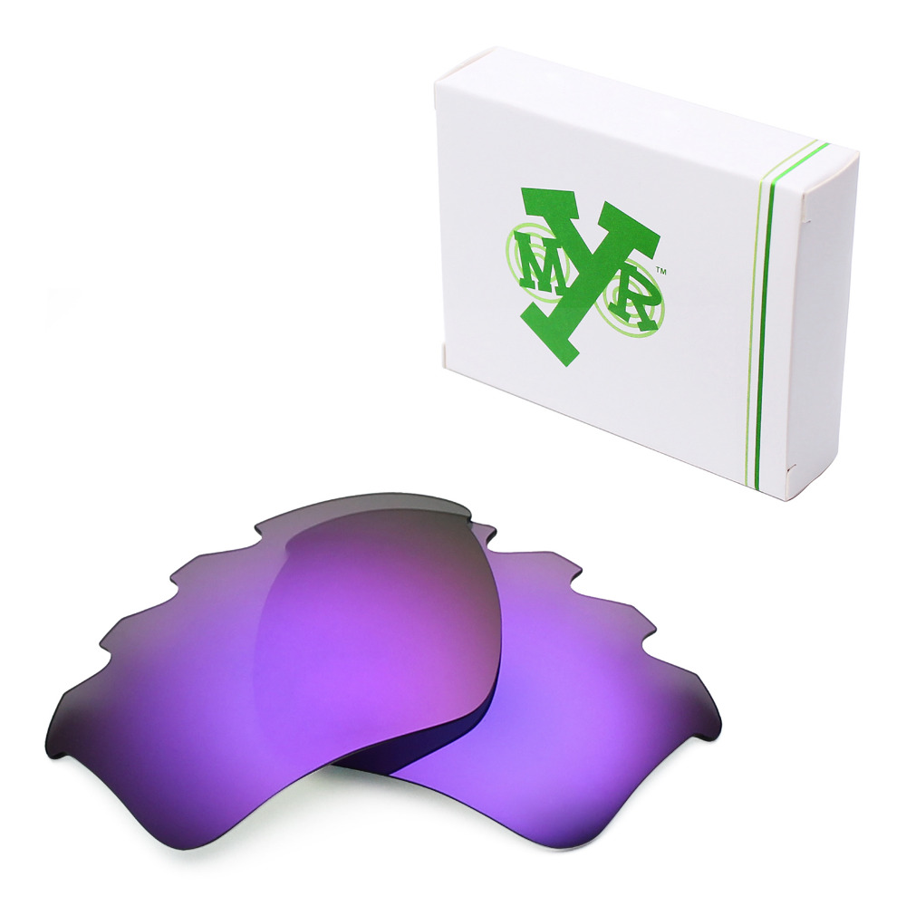 4ac04316e9f Mryok POLARIZED Replacement Lenses for Oakley Half Jacket 2.0 XL Vented  Sunglasses Plasma Purple