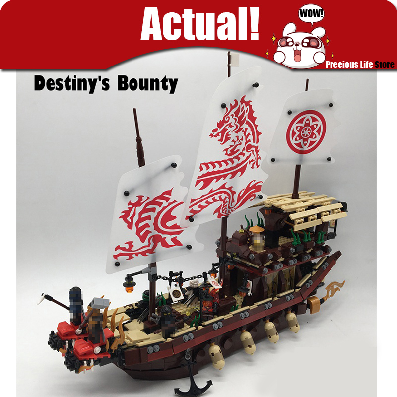 NEW Ninja 1872pcs Final Fight of Destiny Bounty Ship Creator Action Figures Education Building Block Bricks Go Toys For Children heavy air compressor pressure switch control valve 90 psi 120 psi convenient heavy duty 240v 16a auto control load unload hot