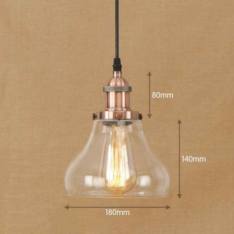 IWHD Iron Lampen Vintage Retro Hanging Lamp LED Style Loft Industrial Pendant Light Fixtures Kitchen Glass Iluminacion iwhd loft industrial hanging lamp led iron retro vintage pendant lights fixtures kitchen dining bar cafe pendant lighting