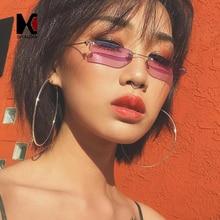 FREE SHIPPING Ultralight Small Rimless Sunglasses JKP784