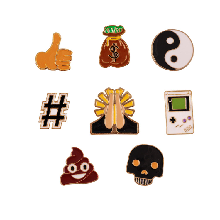 Jewelry Sets & More Jewelry & Accessories Sea Cuties Pin Whale Shark Narwhal Octopus Puffer Fish Hard Enamel Pin Lapel Pin Cartoon Brooches Badges Pinback Collar Badges