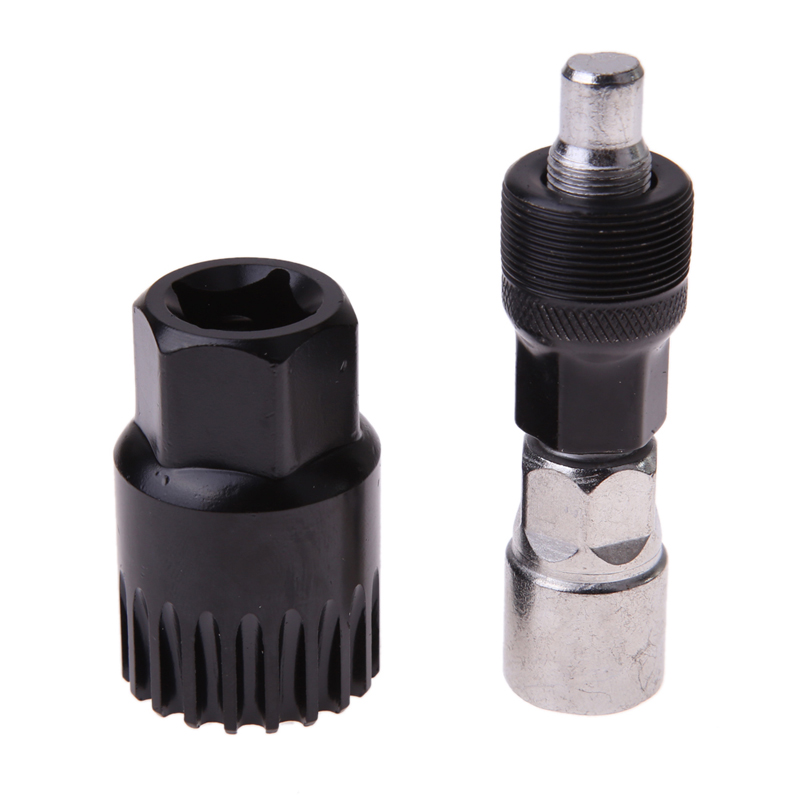 Practical Bicycle Bike Crank Wheel Extractor Bottom Bracket Cycling Crankset Pedal Remover Bike Repair Tools bicycle Accessory