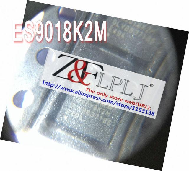 ES9018K2M  ES 9018K2M  ES9018K2M-E  Revision V HIFI DAC chip  support  32BIT  /  384KHZ  /  DSD  New Original  2PCS/LOT