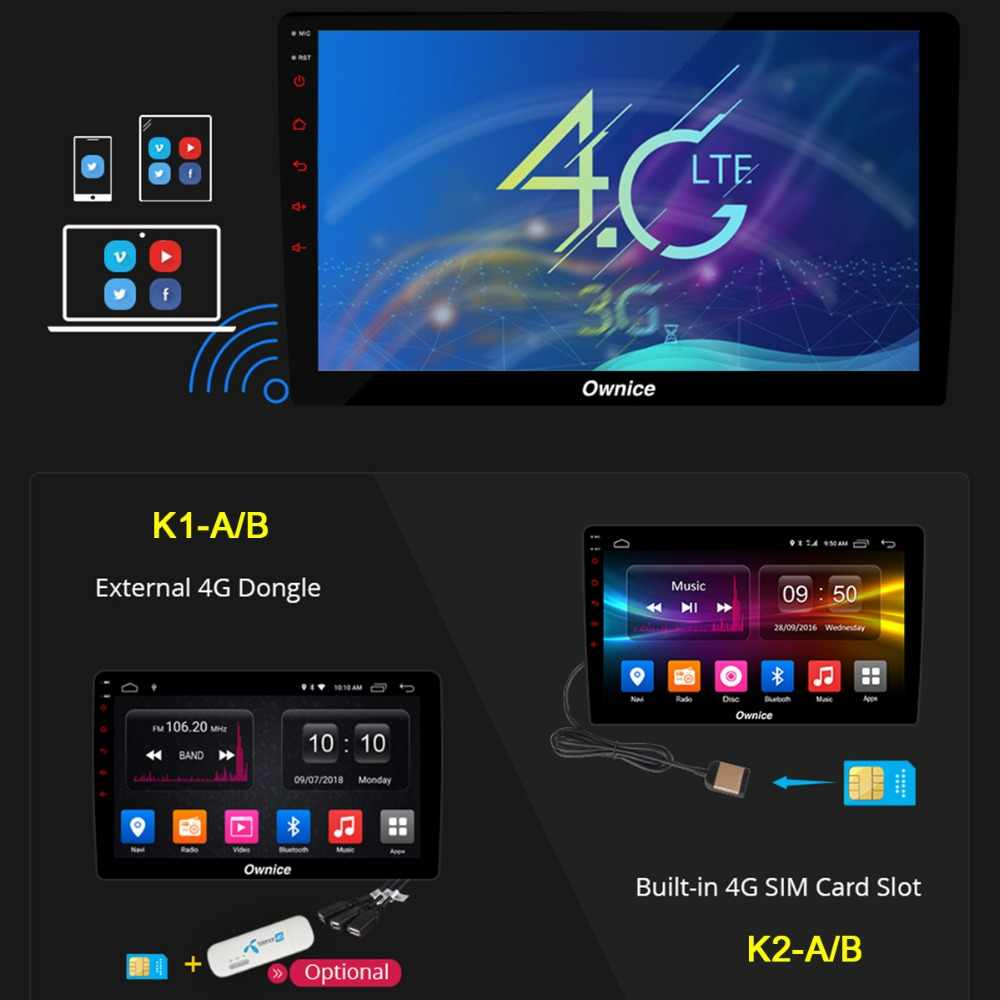 "8 ""ips Android 9,0 Octa Core 4 Гб + 32 ГБ Автомобильный DVD плеер для Kia Carnival 2014 2015 2016 2017 2018 2019 GPS Радио стерео DSP CarPlay"