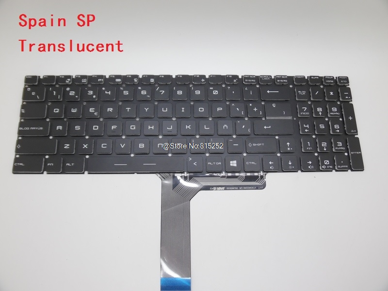 Laptop Keyboard For MSI GS60 2PC 2PE 2PL 2PM 2QC 6QC GS70 2OD 2PC 2PE 2QD 2QE 6QC 6QD 6QE ONC GT72 GT740 GT740X GX62 6QD WS60 re done хлопковая футболка с принтом