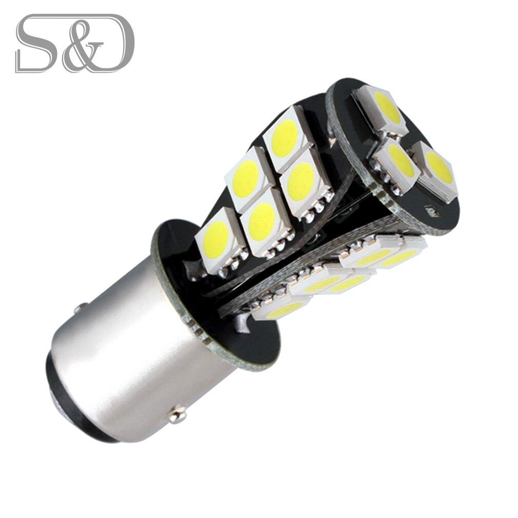 """1157 BAY15D 18 SMD LED CANBUS Error Free светодиодный лампы p21/5 Вт Светодиодный ламп автомобиля задний стоп-сигнал светильник, футболка с принтом """"автомобиль"""" светильник источник 12V D030"""