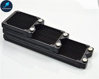 120 240 360mm 27mm Full Copper Radiator Computer Water Cooled Row Black Heat Exchanger For PC