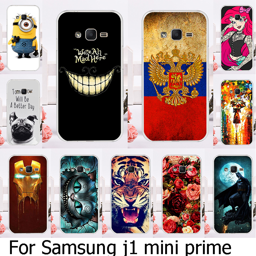 AKABEILA Soft TPU Hard Plastic Case For Samsung Galaxy J1 Mini Prime SM-J106 4.0 inch Case Mobile Phone Cover Housing