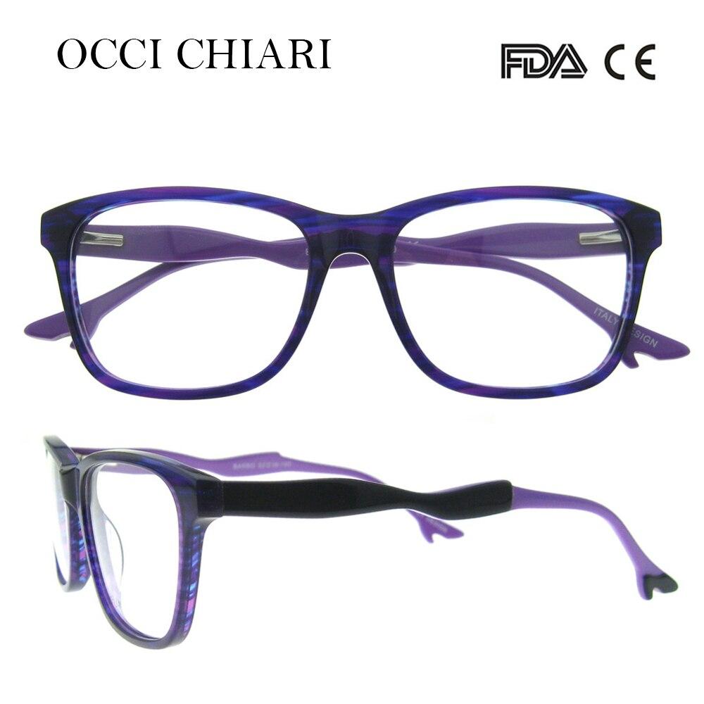 OCCI CHIARI Italy Designer Brand High heels decorate Acetate ...