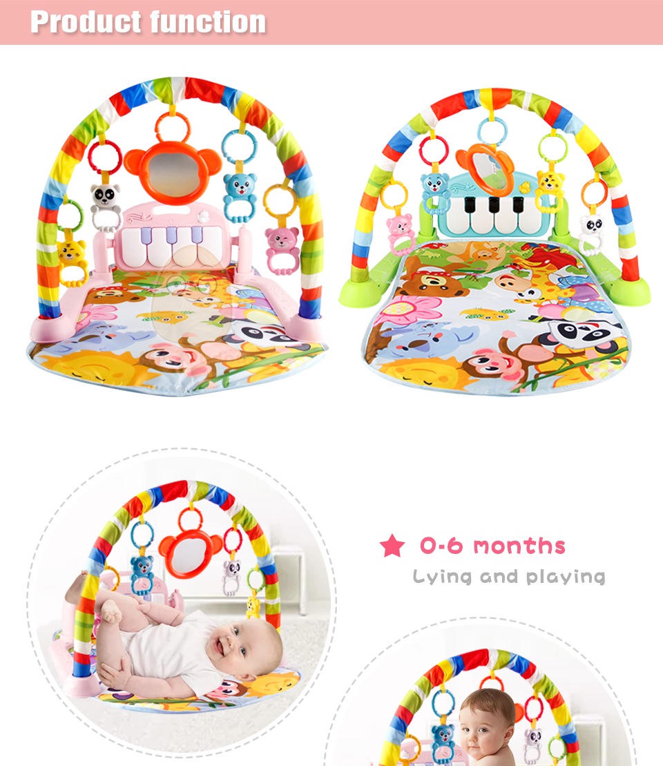HTB1qnkObiLrK1Rjy1zdq6ynnpXaA Baby Gym Tapis Puzzles Mat Educational Rack Toys Baby Music Play Mat With Piano Keyboard Infant Fitness Carpet Gift For Kids