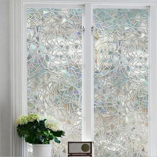 3D Fensterfolien Für Glas PVC Kein Kleber Statische Dekorative ...