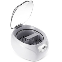 Professional 750ML Nail Art Tools Manicure Sterilizer Ultrasonic Cleaner Professional Washing Equipment 5 Settings TIMER Button