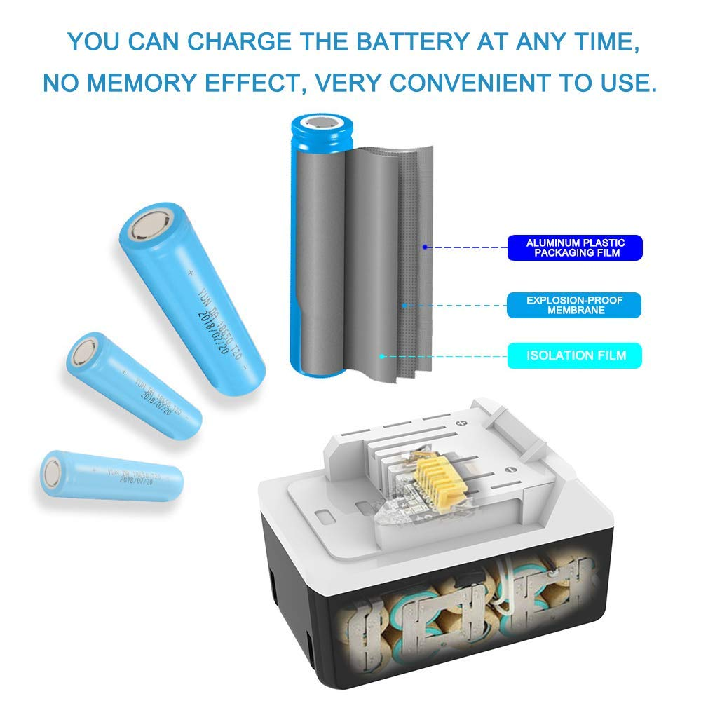2 Pcs BL1813G Makita 18V 4 0Ah Lithium Ion Battery for DF457D HP457D JV183D TD127D UR180D UH522D CL183D Electric tool in Replacement Batteries from Consumer Electronics