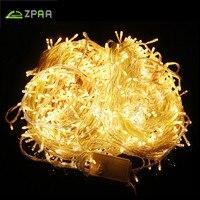 50 Mt/400 100 Mt/800 LED Fairy LED String Licht Freien Wasserdichte AC220V Ferien String Garland Für weihnachten Weihnachten Hochzeit