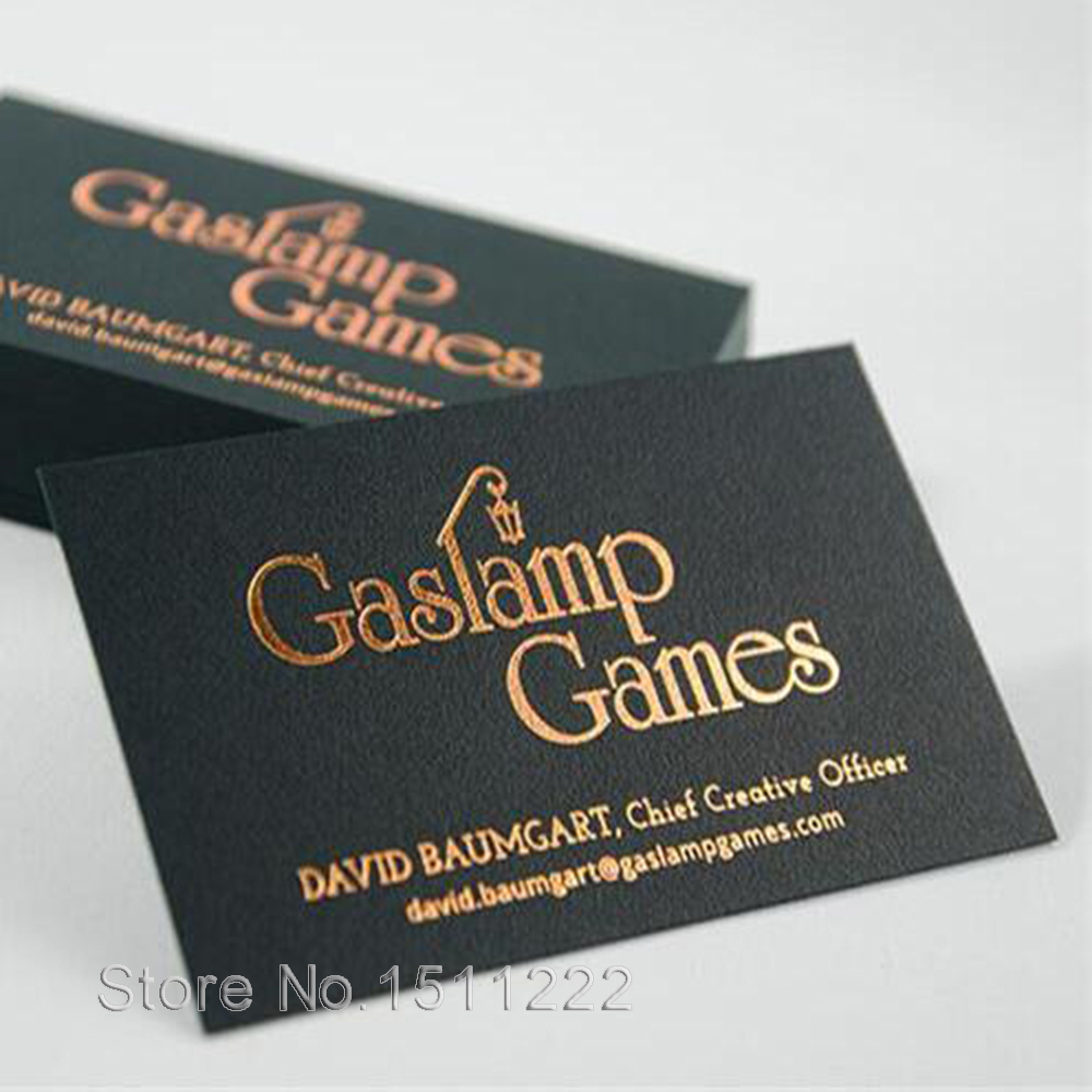 Business cards gold foil stamping cards custom of high grade high business cards gold foil stamping cards custom of high grade high quality business card black gold foil card in business cards from office school supplies reheart Images