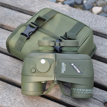 Buy online 10X50 396FT/1000YDS Military Optic Binocular Telescope Spotting Scope w/ Compass Hunt Travel Waterproof Shockproof Binoculars