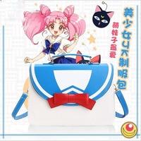 Anime Sailor Moon Cosplay JK Uniform Handbag Women Shoulder Bag Messenger Bags Lolita Bowknot Multifunctional Backpack Knapsack